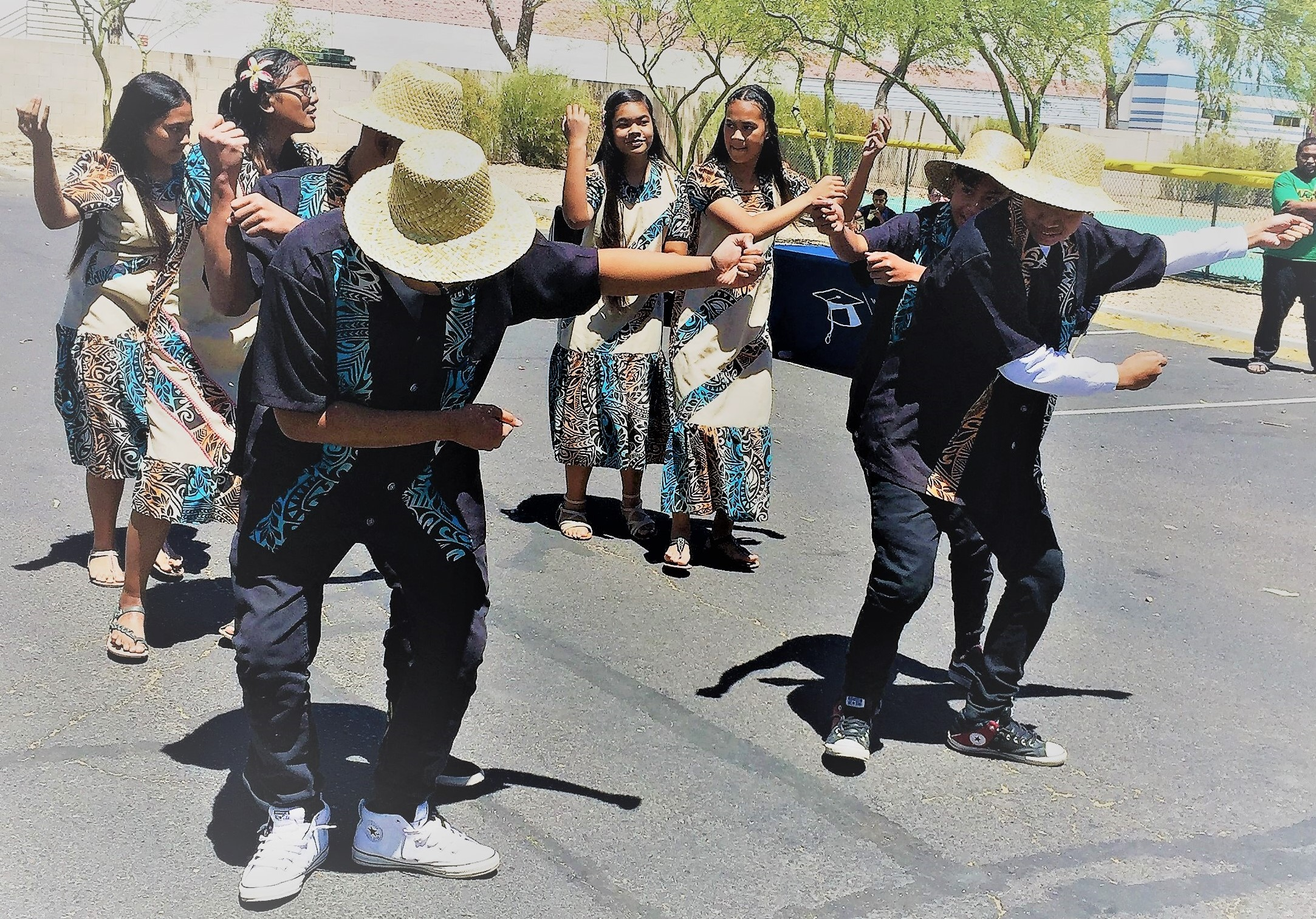 April 2017-RMI youth performs for Healthy Kids Day at YMCA, Maryvale