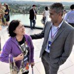 Claudia meets APIAHF's Sr. Policy Strategist, Iyanrick John, Sr.
