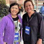 Claudia F. Kaercher, President, Island Liaison is with Fahina Pasi-Tavake