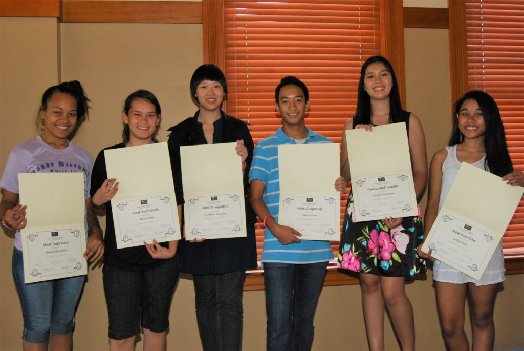 2011 AsianLEAD High school participants