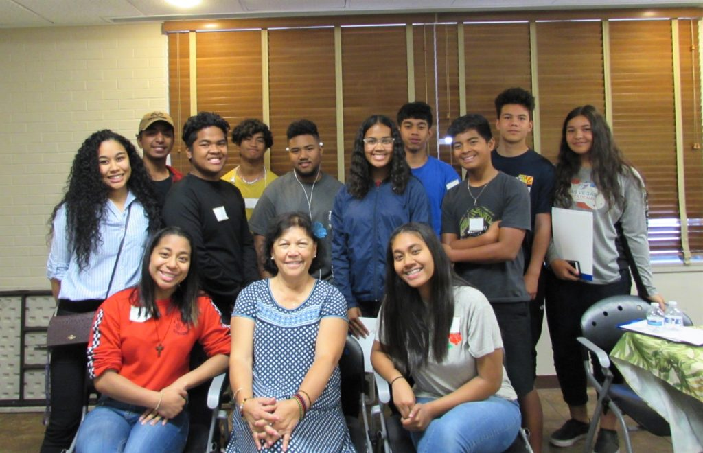 2019 Pacific Islander Empowerment Forum students